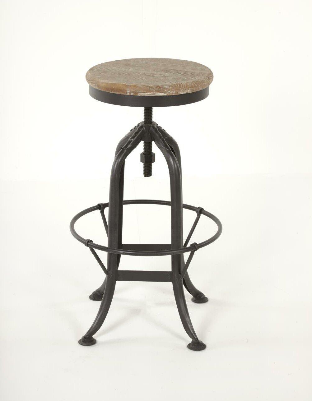 Strange Ramsell Iron Adjustable Height Swivel Bar Stool Beatyapartments Chair Design Images Beatyapartmentscom