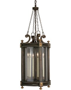 Fine Art Lamps Beekman Place 5-Light Outdoor Hanging Lantern
