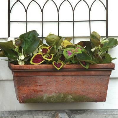 Plastic Planter Box With Trellis Reviews Birch Lane
