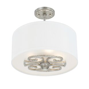 Newman 4-Light Semi-Flush Mount by House of Hampton