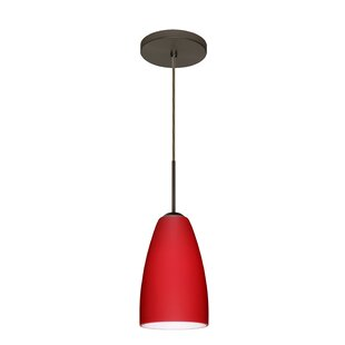 Besa Lighting Riva 1-Light Cone Pendant