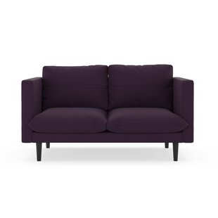 Corrigan Studio Cowie Cross Weave Loveseat
