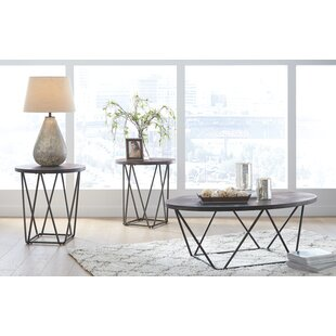 Wrought Studio Melanie 3 Piece Coffee Table Set