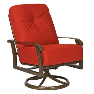 Cortland Extra Large Swivel Rocking Chair by Woodard