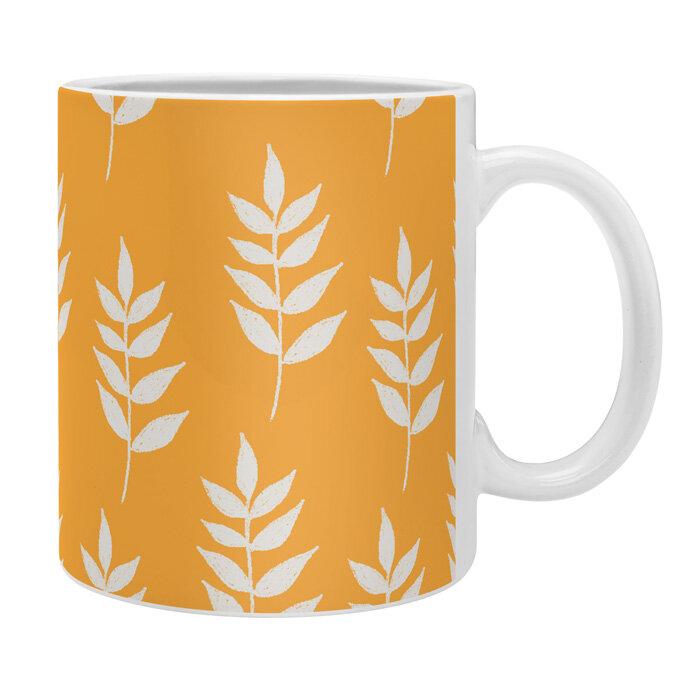 East Urban Home Mini Leaf Coffee Mug Wayfair