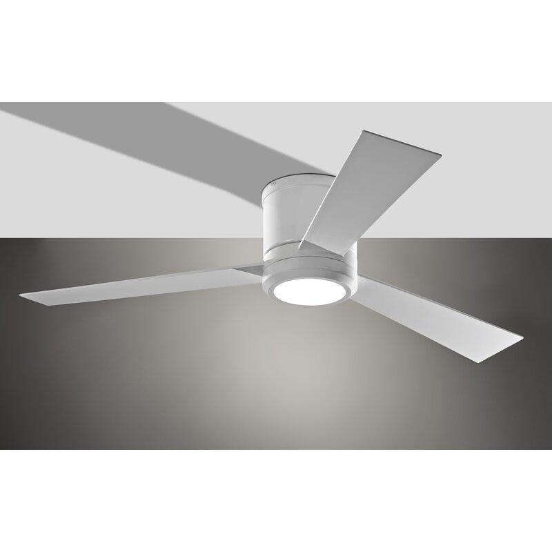 52 Nikhel 3 Blade Led Ceiling Fan