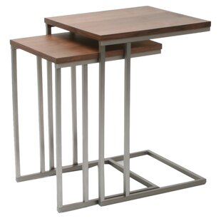 Great Price Wallick 2 Piece Nesting Tables ByBrayden Studio