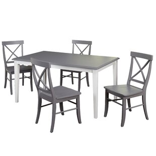 Lehigh Acres 5 Piece Dining Set Beachcrest Home