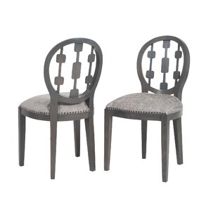 Ferndale Solid Wood Dining Chair (Set of 2) by Canora Grey