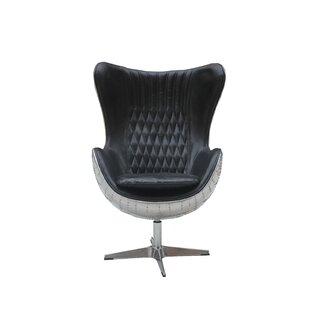 Cullum Swivel Lounge Chair by 17 Stories