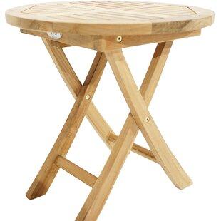 Bridgeview Folding Teak Side Table By Sol 72 Outdoor