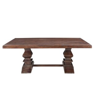 Longshore Tides Maliyah Pedestal Coffee Table