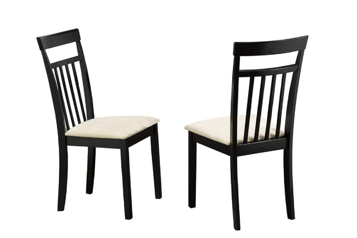 Red Barrel Studio Adysson Solid Wood Windsor Back Side chairin Espresso