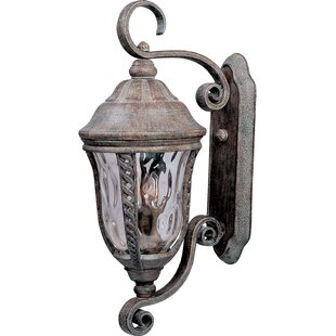 Ithaca 3-Light Outdoor Wall Lantern By Astoria Grand Outdoor Lighting