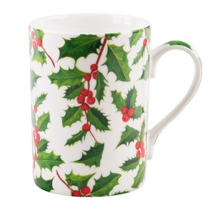 Ponce Holly Chintz Coffee Mug
