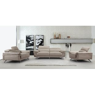 Orren Ellis Benita Living Room Set 3 Piec..