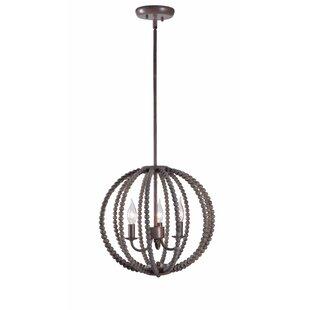 Pomerleau 3-Light Globe Chandelier