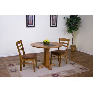 Fresno 3 Piece Drop Leaf Dining Set