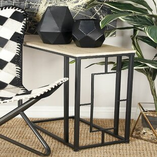 Reviews Metal End Table By Cole & Grey