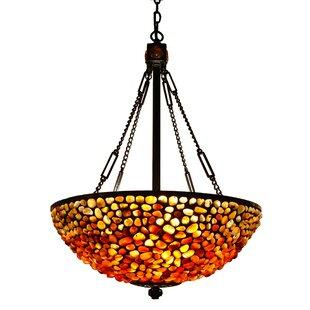 3-Light Bowl Pendant by Fi..