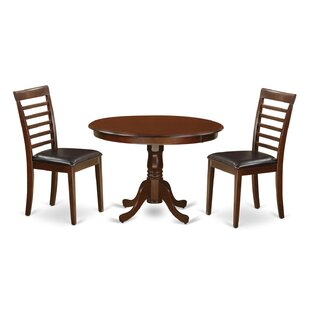 Travis 3 Piece Dining Set August Grove
