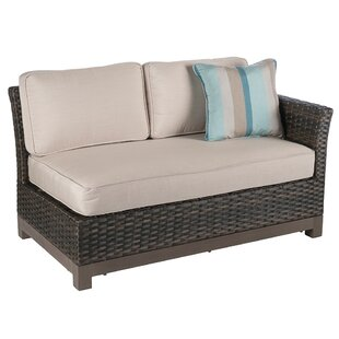 Bayou Breeze Eibhlin 2 Piece Left/Right Sectional Piece With Cushions
