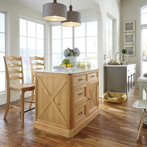 Country Lodge Kitchen Island Set by Home Styles