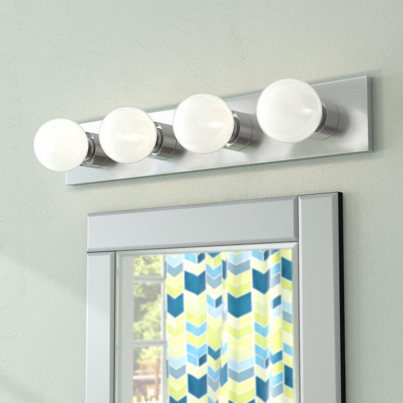 Zipcode design jannie 4 light bath bar reviews wayfair jannie 4 light bath bar aloadofball Gallery