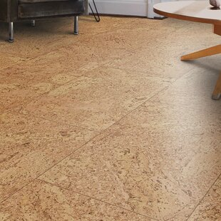 CorkComfort Manufactured Cork Hardwood Flooring In Tan Wood