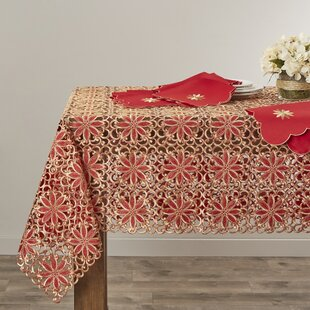Broderie Embroidery Cutwork Tablecloth