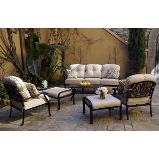 Bullis 6-Piece Sofa Seating Set with Cushions and Pillows