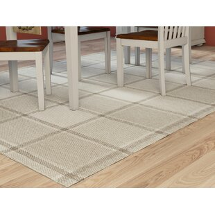 Look for Meyers Flatweave Wool Light Gray/Medium Gray/Cream Area Rug ByAugust Grove
