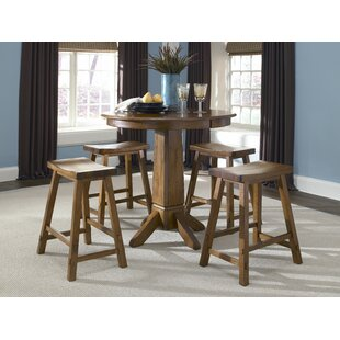 Marni 6 Piece Pub Table Set by August Grove
