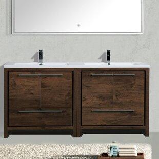 Almendarez 71 Double Bathroom Vanity Set by Langley Street