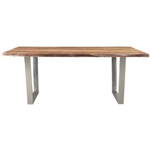 Union Rustic Monserrat Live Edge Dining T..
