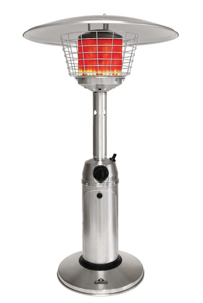 Propane Radiant Heater >> Lifestyle Radiant 10 000 Btu Propane Tabletop Patio Heater