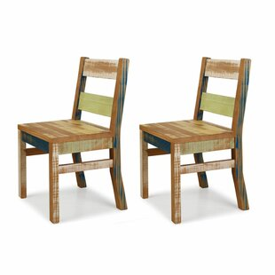 Rosecliff Heights Freeport Solid Wood Dining Chair (Set of 2)