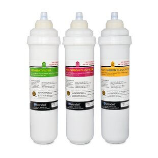 Brondell H2O+ Circle Triple Reverse-osmosis Filter Replacement (Set of 3)