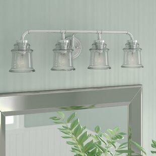 Compare Kline 4-Light Vanity Light By Zipcode Design