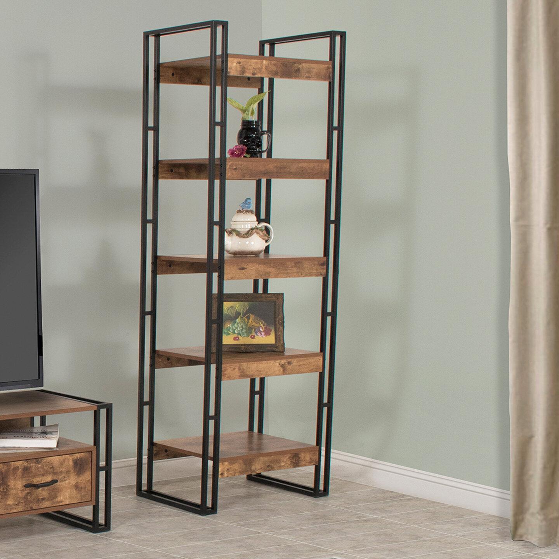Williston Forge Vania 70.86'' H x 23.6'' W Etagere Bookcase