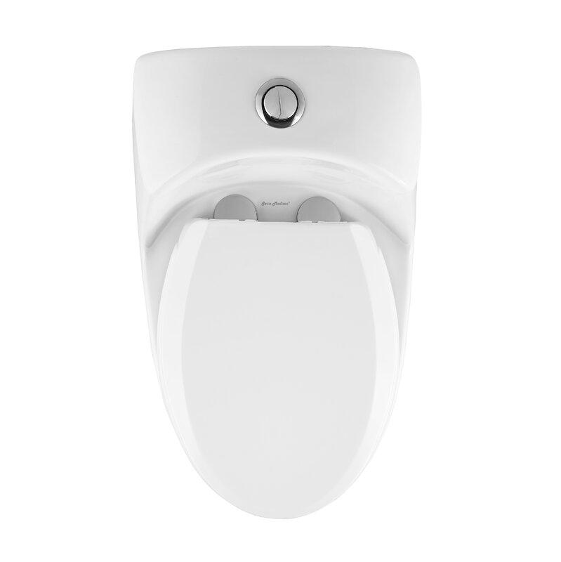 Toilette allongée une pièce à double chasse Chateau®