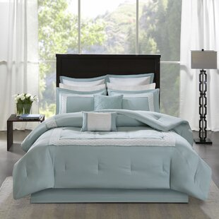 Beachcrest Home Stearns Reversible Comforter Set