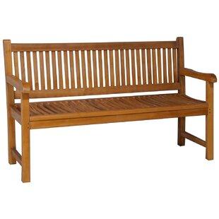 Quinlan Triple Teak Garden Bench