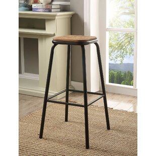 Ling 30 Bar Stool (Set of 4) by 17 Stories