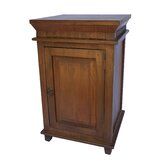 Lassiter Solid Wood Nightstand in Brown by Canora Grey
