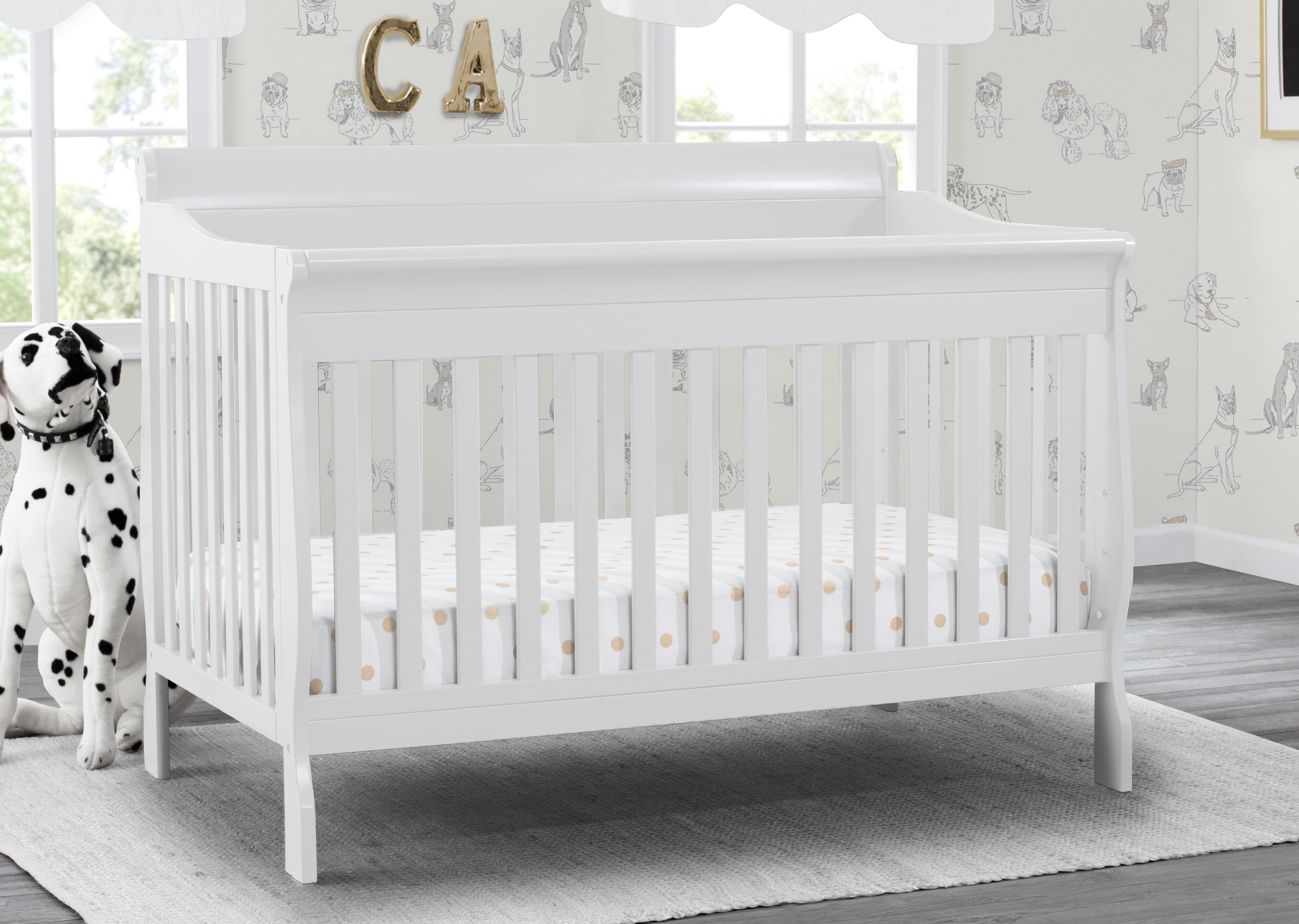 - Delta Children Canton Deluxe 5-in-1 Convertible Crib & Reviews