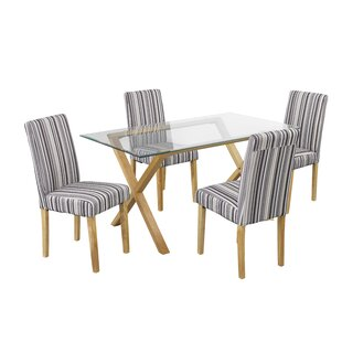 Riffe Dining Table With 4 Chairs By Ophelia & Co.