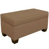 Linney Upholstered Storage Bench by Latitude Run