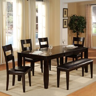 6 Piece Extendable Dining Set Wildon Home®