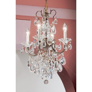 Classic Lighting Via Venteo 4-Light Candle Style Chandelier
